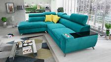 Eck Sofa Couchgarnitur Modivo mit Schlaffunktion Bettkasten versch. Varianten