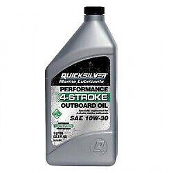 Quicksilver 10W-30 Outboard Engine Oil 858045QE1