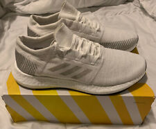 ADIDAS PUREBOOST GO GREY WHITE B37809 MEN'S RUNNING SHOE SIZE 12 NIB NEW