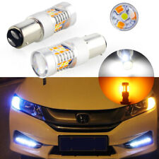 2X Super bright 1157 Dual-Color Switchback 28-Smd Samsung Led Turn Signal Lights