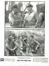 The Thin Red Line Sean Penn Woody Harrelson John Travolta Hollywood Movie Photo