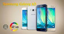 """*NEW SEALED*  Samsung Galaxy A3 A300F 4.5"""" Smartphone/Platinum Silver/16GB"""