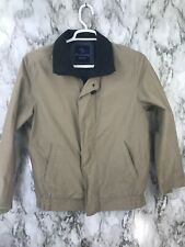 Barred's Sport Mens Sz 48 Full Zipper Pullover Jacket Beige Lightweight