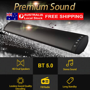 TV Sound Bar Home Theater Subwoofer Stereo PC Soundbar Bluetooth Wireless/Wired