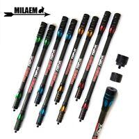 "Carbon Balance Bar 10"" 12"" 15"" Stabilizer Archery Side Rod Pole Extend Hunting"