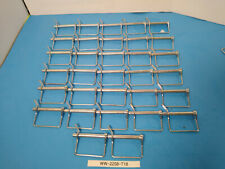 NEW LOT OF 32 Coupler Locking Safety Pins 1/4 In Dia X 3 In