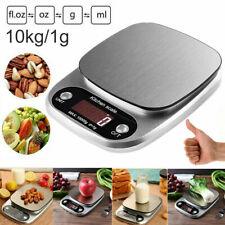 Küchenwaage Haushaltswaage Briefwaage Digitalwaage Waage Edelstahl 10kg/1g