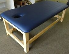 ULTRASTYLE THAI MASSAGE TABLE NAVY BLUE TOP NO RACK L190 H65 W80cm AUS MADE