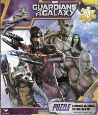 "Jigsaw Puzzle GUARDIANS OF THE GALAXY 48 Piece 9.1"" x 10.3"" Cardinal S2"