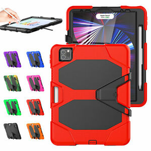 For 7.9 iPad Mini 5 2019 4/3/2 Shockproof Kickstand Stand Case Screen Protector