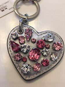 Glam! *COACH* Sparkle Crystal Rhinestone Purse Charm Keyfob 92659 ~ RARE!!