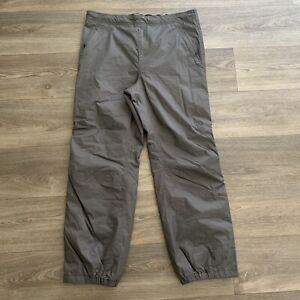REI Men's Gray Primaloft Insulated Ski Pants Size XL 32 length