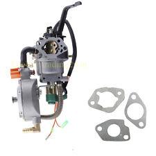 Dual Fuel Generator gasoline carburetor Carb Fi HONDA GX390 188F 5KW Water Pump
