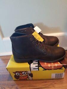 Smartfit 177783D06 Lincoln Brown Boots Junior Boy's Shoes Size: 3NWB
