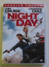 DVD NIGHT AND DAY - Tom CRUISE / Cameron DIAZ - Version Longue - NEUF