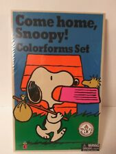 Colorforms Classic Come Home Snoopy 2018 Repro 1972 Set Charlie Brown Woodstock