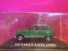 SUPERBE RENAULT 4 GTL 1989  EN BOITE 1/43 G7