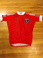 Men's Vomax MLS San Jose Earthquakes Short Sleeve Cycling Jersey Size S