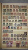 European Stamp Album, 1800's and Later, 500+ Stamps: Italy, Belgium, Denmark+++
