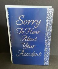 Accident Get Well Soon Greeting Card w/Envelope NEW