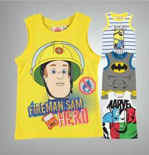 Boys' Novelty/Cartoon Polyester T-Shirts & Tops (2-16 Years)