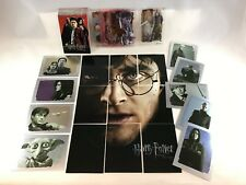 HARRY POTTER & THE DEATHLY HALLOWS PART 2 Complete Card Set w/ All Chase Cards