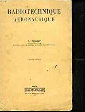 Radiotechnique aeronautique