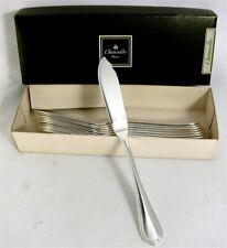 Christofle modèle Spatours, 12 couteaux à poisson, excellent état, Fish Knives.