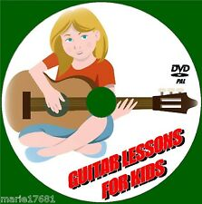 GUITAR LESSONS FOR CHILDREN EASY STEP BY STEP GUIDE FOR 5-13 YRS VIDEO DVD NEW