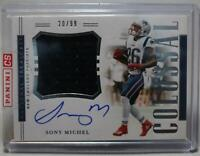 2018 Panini National Treasures Colossal Sony Michel RC Patch Auto #RCS-SM /99