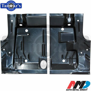 71-74 Plymouth Cuda Barracuda Trunk Floor Pan Side -  AMD  -  PAIR