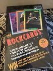 1991+Brockum+RockCards+Trading+Cards+Factory+Sealed++Box