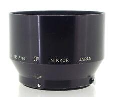 Nikon F Genuine Metal Lens Hood for 105mm f/2.5, 135mm f/3.5
