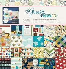 "American Crafts Shimelle Go Now Go 12 x 12"" 48 Sheet Paper (25 Pack), Pad"