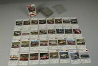 Karten Quartett - PS Rennwagen 1970er J - Kartenspiel  kpl. mit  32 Karten /260
