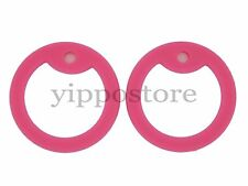 4 Pink Silicone Military Army Dog Tag Silencers Rubber Silencer