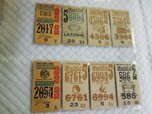 HORSE RACING 1925-1926 TICKETS...FROM A BIG COLLECTION.
