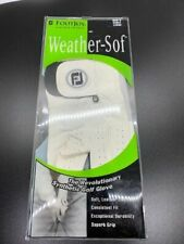FootJoy WeatherSof Golf Glove Left Handed Men's Large New in Package White