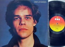 David Johansen~Original OZ ST 1st LP NM 1978 New York Dolls Post Punk hard Rock