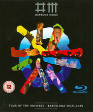 Depeche Mode: Tour of the Universe - Barcelona 20/21.11.09 (Blu-ray Disc, 2013)