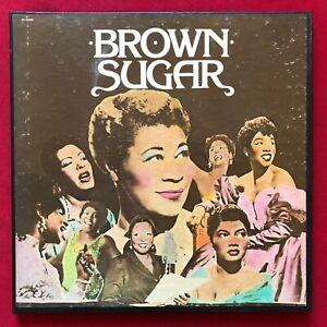 BROWN SUGAR ~ 3 LP BOX SET (1983) FEMALE VOCAL JAZZ BLUES ~ P3 15996 MONO