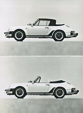 1981 PORSCHE 911 TURBO CABRIOLET 930 PRESSEBILD PRESS PICTURE PERSFOTO ORIGINAL