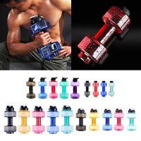 Fitness Haltères Poids D'eau Forte Boissons Bouteille BPA Livraison Home Gym