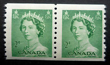 CANADA #331  MINT NH** COIL PAIR 1953 ISSUE