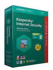 KASPERSKY INTERNET SECURITY 2018 1 PC / Geräte  1 Jahr Vollversion