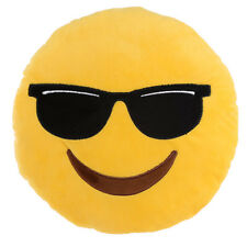 Sunglasses Cool Smiley Emoji Emotive Cushion