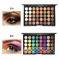40 Color Eyeshadow Cream Eye Shadow Makeup Cosmetic Matte Palette Shimmer Set AU