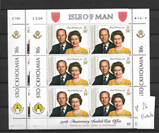 1992 MNH Isle of Man, sheets Postfris