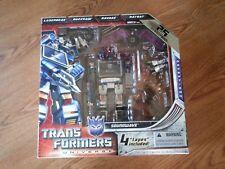 NEW VGC Transformers 2009 SDCC Soundwave Ratbat Laserbeak Buzzsaw Ravage