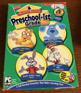 Adventure Workshop Preschool-1st Grade pc CD Roms